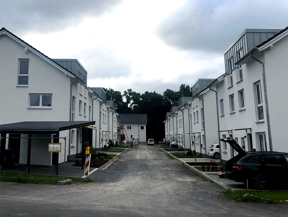 Neubaugebiet Kramers Feld in Paderborn
